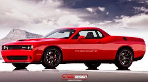 Dodge Challenger SRT Supercharged Pickup by X-Tom Design 2014 года