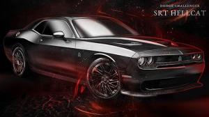 Dodge Challenger SRT Hellcat by Carlex Design 2016 года