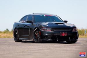 Dodge Charger SRT Hellcat X Work on Vossen Wheels (VWS-2) 2016 года