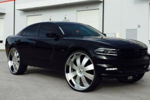 Dodge Charger on Forgiato Wheels (OTTO) 2016 года