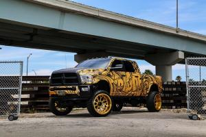 Dodge Ram 2500 Mega Cab Laramie by Spades Kreations 2016 года