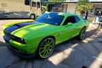 Dodge Challenger on Forgiato Wheels Green (F2.04-C) 2017 года