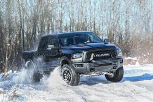 Dodge Ram 1500 Rebel Black Crew Cab 2017 года