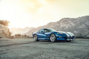 2017 Dodge Viper SRT on ADV.1 Wheels (ADV05 TRACK SPEC)