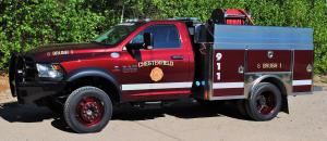 2017 HME Ram 5500 Tradesman Brush Truck