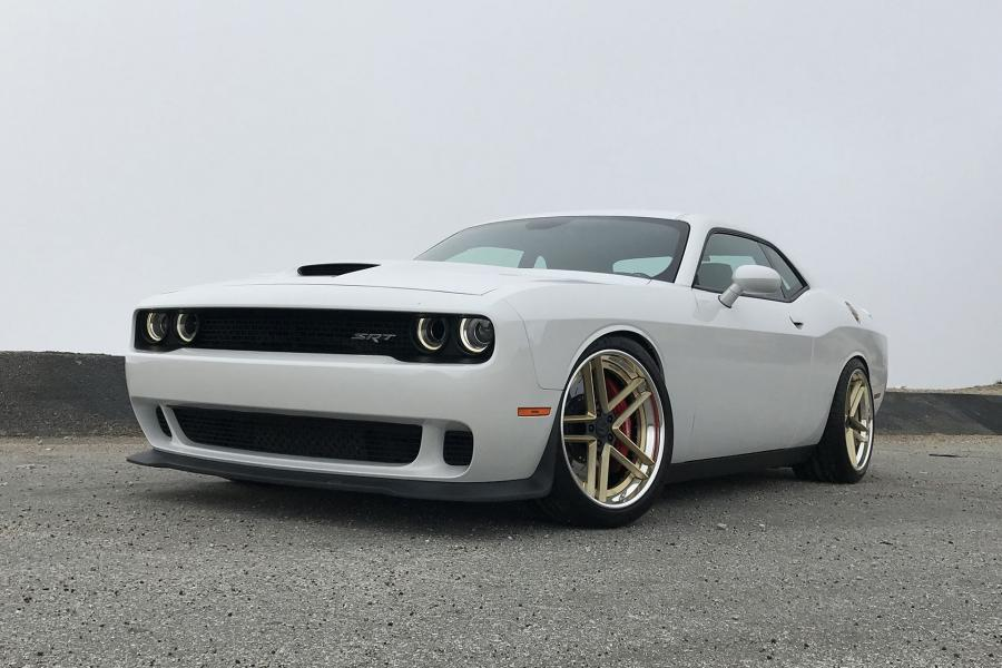 Dodge Challenger SRT on Forgiato Wheels (TEC 3.7)