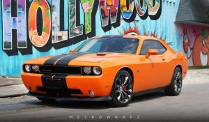 Dodge Challenger SRT8 by MetroWrapz 2018 года