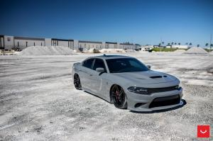 2018 Dodge Charger SRT Hellcat on Vossen Wheels (HF-1)