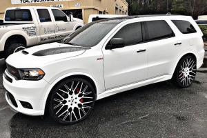 Dodge Durango SRT on Forgiato Wheels (Fratello-ECL) 2018 года