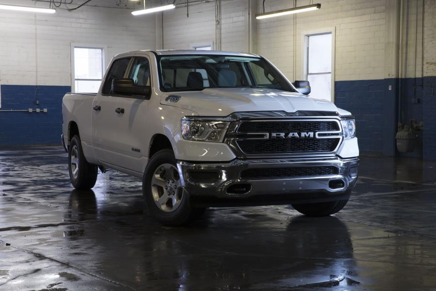 2018 Dodge Ram 1500 Tradesman Crew Cab Chrome Appearance Package