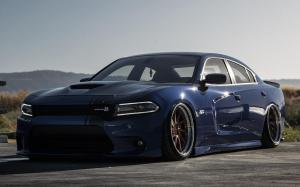 Dodge Charger R/T Scat Pack on Avantgarde Wheels (AG F521) 2019 года