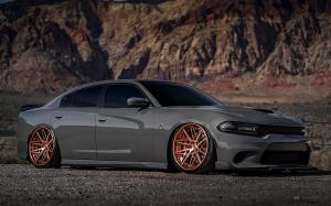 Dodge Charger SRT Hellcat on Avantgarde Wheels (AG F538) 2019 года