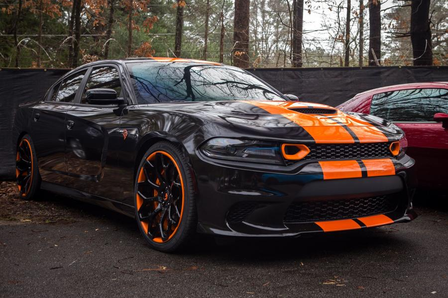 2019 Dodge Charger SRT Hellcat on Forgiato Wheels (Tessi-ECL)