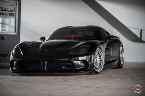 2019 Dodge Viper SRT on Vossen Wheels (ML-R1)
