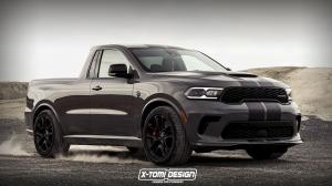 2020 Dodge Durango SRT Hellcat Pickup by X-Tomi Design