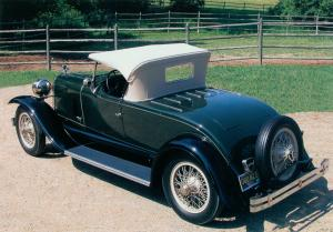 Duesenberg A Roadster by Millspaugh & Irish 1923 года