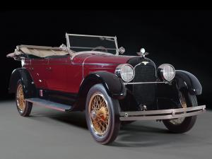 1925 Duesenberg A Touring by Millspaugh & Irish