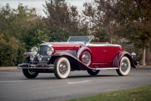 1929 Duesenberg J414/2199 Disappearing Top Torpedo Convertible Coupe SWB by Murphy