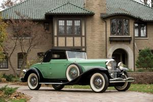 Duesenberg J417/2157 Convertible Coupe SWB by Fleetwood 1929 года