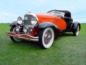 Duesenberg J437/2450 Tapertail Speedster SWB by Weymann 1930 года