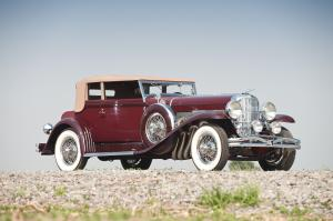 Duesenberg Model SJ Convertible Victoria by the Rollston Company 1930 года
