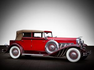 Duesenberg J338/2350 Convertible Sedan SWB by LeBaron 1931 года