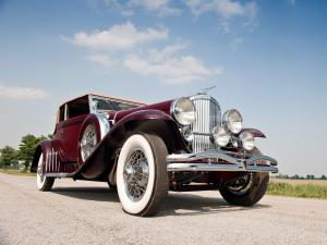 Duesenberg SJ272/2293 Convertible Victoria SWB by Rollston 1931 года