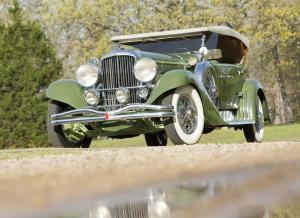 1932 Duesenberg J356/2571 LWB Derham Tourster Re-creation by Ted Billings