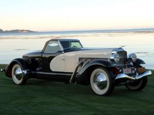 Duesenberg SJ508/2537 Fishtail Speedster LWB by Weymann 1933 года