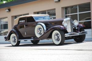1934 Duesenberg JN570/2601 Convertible Sedan SWB by Rollston