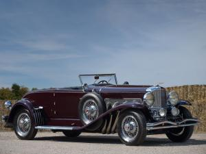 1935 Duesenberg SJ401/2406 Convertible Coupe SWB by Murphy