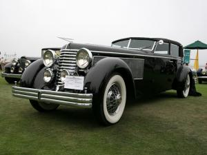 1937 Duesenberg SJ397/2405 Town Car by Rollston