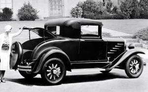 Durant Model 6-14 Business Coupe