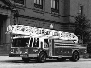 1985 E-ONE Fire Ladder