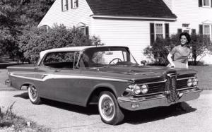 Edsel Corsair Hardtop Sedan 1959 года