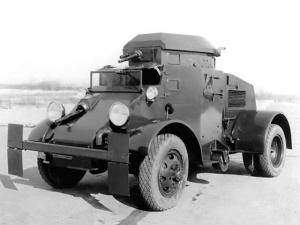 FWD T11 Armored Car