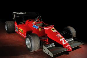 Ferrari 126 C4 F1 Race Car 1984 года