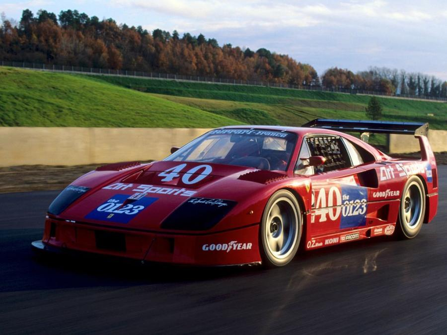Ferrari F40 GTE by Michelotto '1995