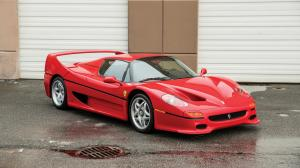 Ferrari F50 owned by Mike Tyson 1995 года