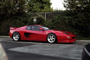 Ferrari F512 M Widebody by Hamann 1995 года