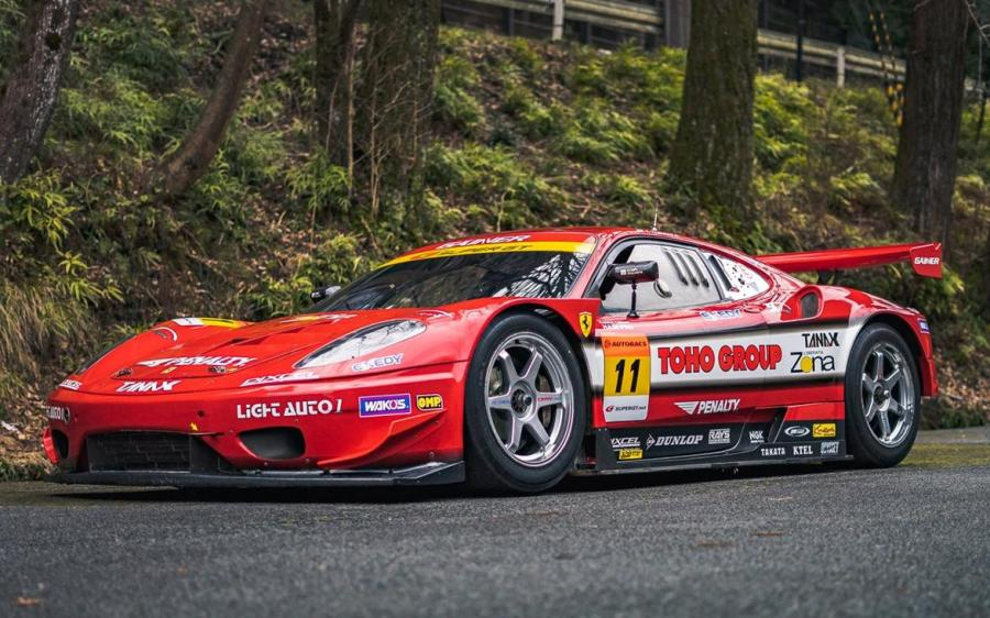 Ferrari F430 Super GT Jim Gainer '2008