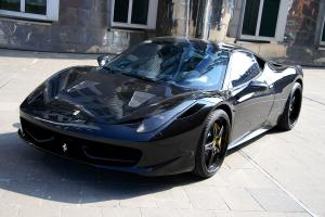 Ferrari 458 Italia Black Carbon Edition by Anderson Germany 2011 года