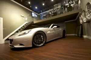 2011 Ferrari California 3S Silver Carbon Fiber by DMC