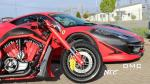 Ferrari 458 Italia Estremo and The Twin Bike by DMC 2014 года