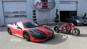 Ferrari 458 Italia Estremo and The Twin Bike by DMC