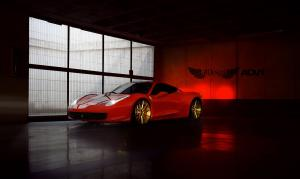 2015 Ferrari 458 Italia by All Design on ADV.1 Wheels (ADV10MV1SL)