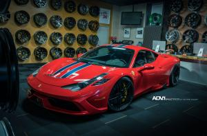 2015 Ferrari 458 Speciale by Shoreline Motoring on ADV.1 Wheels (ADV05MV2CS)