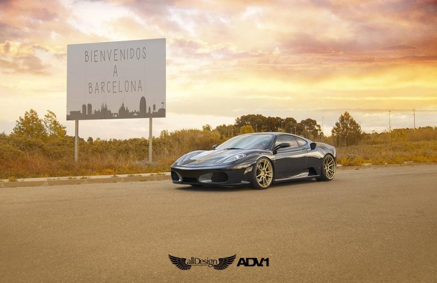 Ferrari F430 by All Design on ADV.1 Wheels (ADV5.2MV2SL)