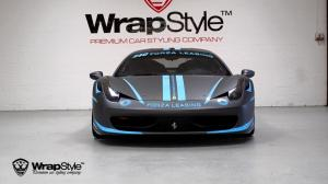 2016 Ferrari 458 Italia by WrapStyle