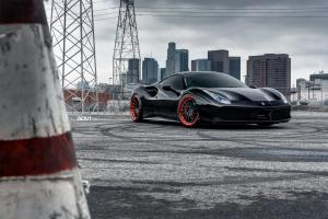 Ferrari 488 GTB by Platinum Motorsports on ADV.1 Wheels (ADV15R TRACK SPEC CS) 2016 года